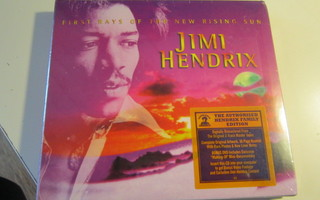 CD+DVD Hendrix 2010 First Rays Of The New Rising Sun avaamat