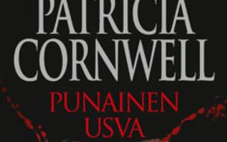 PUNAINEN USVA Patricia Cornwell (Kay Scarpetta) 1p SKP UUSI