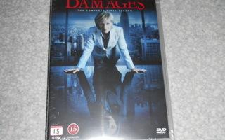 Damages kausi 1 dvd uusi