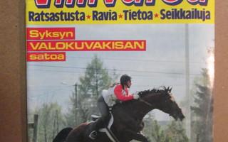 VILLIVARSA 11 1987 HEVOSLEHTI RATSASTUSTA; RAVIA  SARJAKUVAA