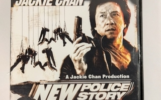 DVD) New Police Story (2004) Jackie Chan