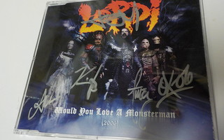 LORDI - WOULD YOU LOVE A MONSTERMAN CDS NIMMAREILLA