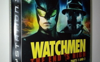 PS3) Watchmen: The End Is Nigh: Parts 1 and 2