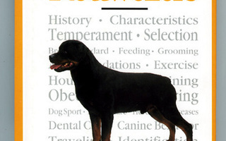A New Owner's Guide to ROTTWEILERS by Urs Ochsenbein UUSI
