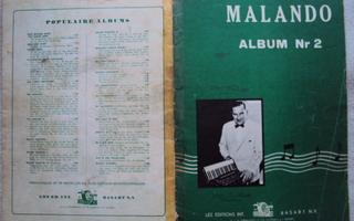 Malando-album nr 2; Nuottivihko harmonikalle