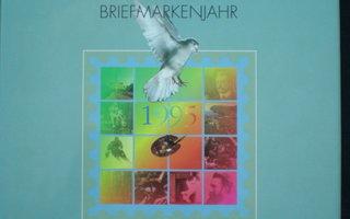 Postimerkkivuosi 1995 vuosikirja ** LaPe 80 €