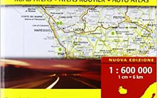 AUTO / Road ATLANTE STRADALE D'ITALIA 1:600.000 UUSI-