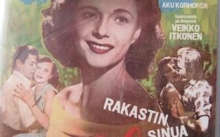 RAKASTIN SINUA HILDE DVD