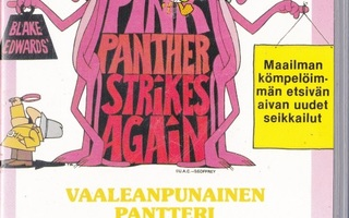 The Pink Panther Strikes Again (VHS)