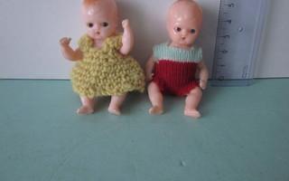 Pienet nukkekoti nuket 50-luvulta