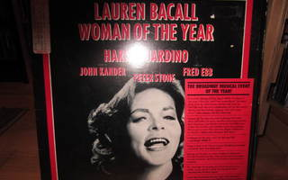 Lauren Bacall: Woman Of The Year LP Orig. Broadway Cast