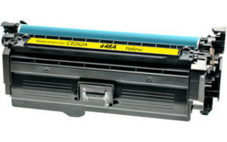 HP 648A, CE262A YELLOW