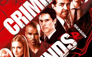 Criminal Minds - Kausi 4(7 disc) DVD Boxi