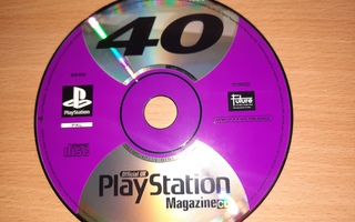 PS1 Official UK 40 PlayStation magazine demo