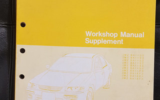 Mazda 323 BH (1994-1997) Workshop Manual Supplement