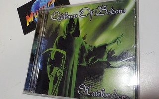 CHILDREN OF BODOM - HATEBREEDER UUSI KOREA PAINOS CD