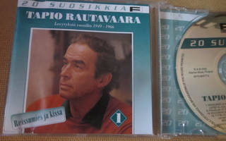 Tapio Rautavaara: 20 suosikkia - Reissumies ja kissa CD