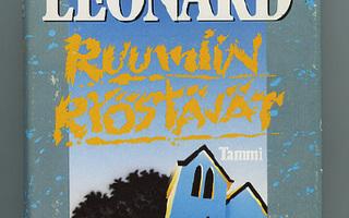 Elmore Leonard : RUUMIIN RYÖSTÄJÄT. 1p .Sid 1988 HYVÄ+