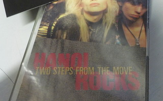 HANOI ROCKS - TWO STEPS FROM THE MOVE C-KASETTI