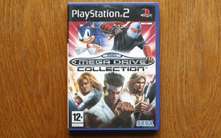 Sega Mega Drive Collection Playstation 2 pelikokoelma (CIB)