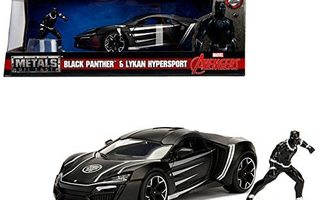 AVENGERS BLACK PANTHER & LYKAN HYPERSPORT	(62 410)	1:24, n.2