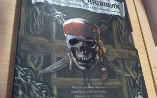 Pirates Of The Caribbean Collection  ( 4 x Blu-ray )