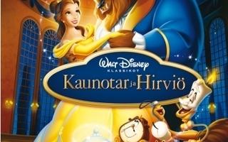 Disney Klassikko 30: Kaunotar ja Hirviö (Blu-ray)