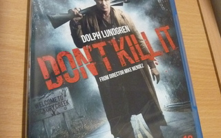 Don't Kill It    ( Blu-ray ) UUSI