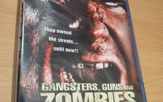 Gangsters, Guns And Zombies   ( Blu-ray ) UUSI