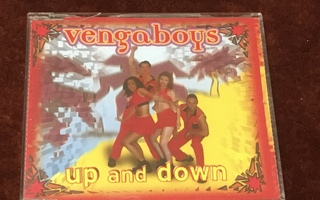 VENGABOYS - UP AND DOWN - CD SINGLE