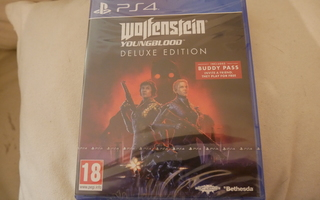 (UUSI) Ps4: Wolfenstein - Youngblood - Deluxe Edition