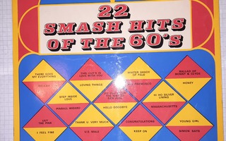 22 Smash Hits Of The 60's, Vol. 1 (1973) LP levy