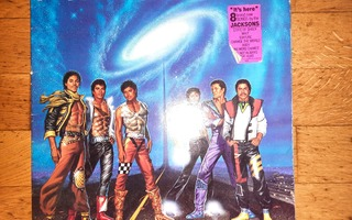 Jacksons, The Victory (1984) LP levy