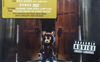 KANYE WEST: Late Registration CD+DVD DeLuxe Limited Edition
