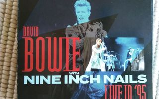 DAVID BOWIE WITH NINE INCH ...-LIVE IN `95  3 CD