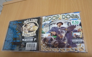 Snoop Dogg - Da Game Is To Be Sold, Not To Be Told   cd