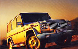 LEGEND KEEPS ON DRIVING 25 Years Mercedes-Benz G-Class UUSI