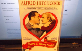 DVD  Herra & rouva Smith ( ohj. Alfred Hitchcock )