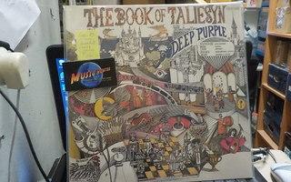 DEEP PURPLE - BOOK OF TALIESYN LP ORIG GER-89 PRESS M-/M-