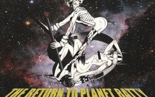The return to planet Batty - rise of the artists cd
