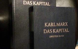 Karl Marx DAS KAPITAL 1-2 ( Saksa 1980 ) Sis. postikulut