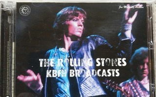 ROLLING STONES - KBFH BROADCASTS. LONDON & BRUSSELS 1973. 3C
