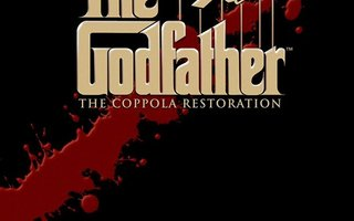 THE GODFATHER - THE COPPOLA RESTORATION (BLU-RAY) UUSI!