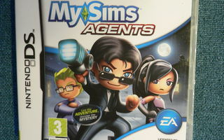 MY SIMS AGENTS NINTENDO DS