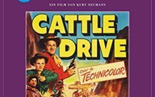 cattle drive(64048)UUSI-DE-digiback,BLU-RAYdean stoc