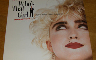 Madonna - Who's that girl  -  LP