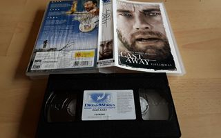 Cast Away/Tuuliajolla - SF VHS (Universal)