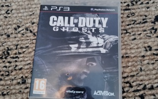 PS3 sis. Ohjeet Call of Duty Ghosts