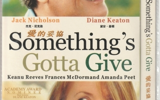 Something's Got To Give DVD