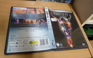 Michael Jackson's This Is It   2 x dvd 0548